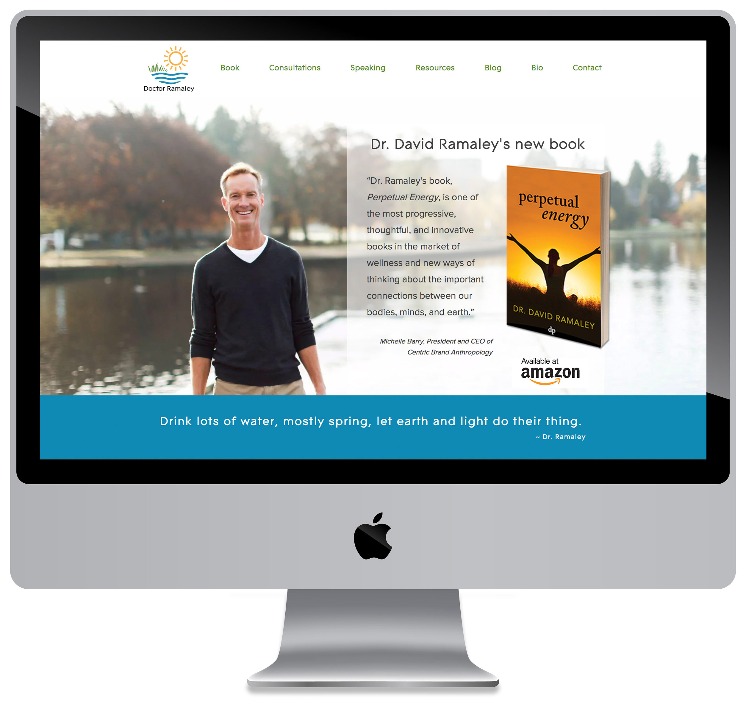 photo of Dr. Ramaley's website