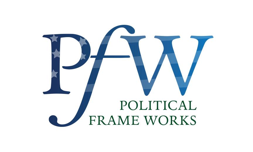 Political Frame Works logo