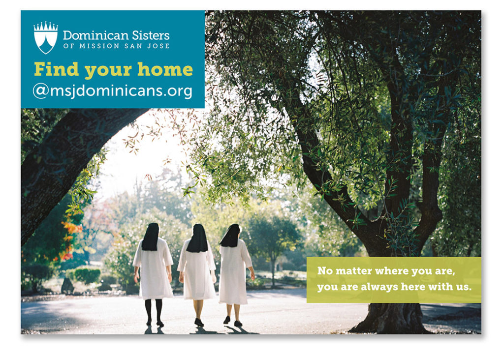 Dominican Sisters of Mission San Jose postcard
