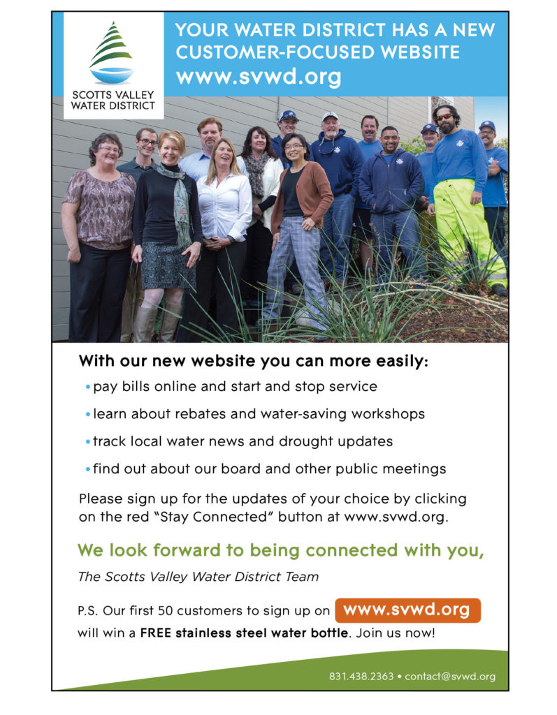 Scotts Valley Water District ad