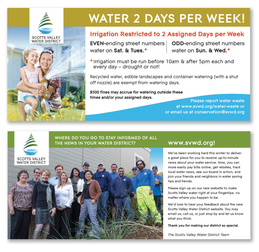 Scotts Valley Water District outreach