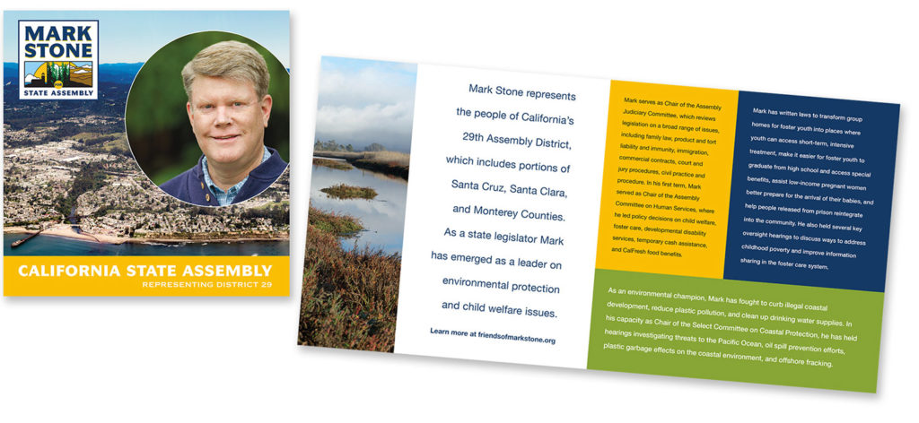 CA Assembly member Mark Stone brochure